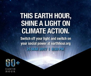 Earth Hour party
