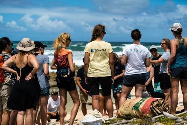 eXXpedition beach cleanup