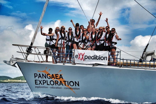 Image of eXXpedition team
