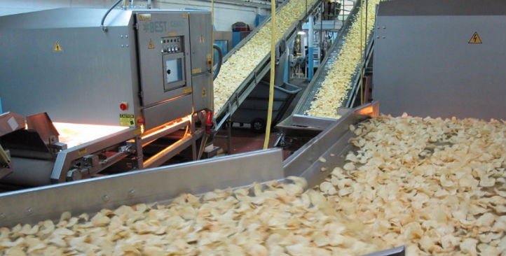 Potato Chips sorting at Old Dutch