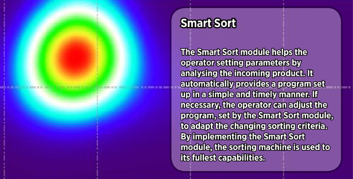 Smart Sort technology by TOMRA