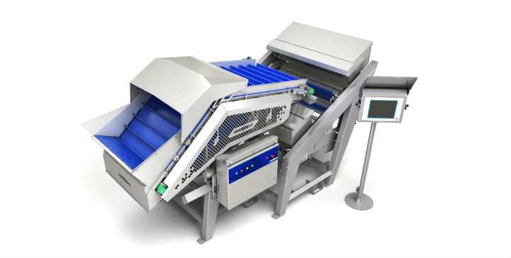 Halo food sorting machine
