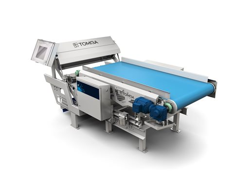 Sentinel II potato and tomato sorting machine by TOMRA