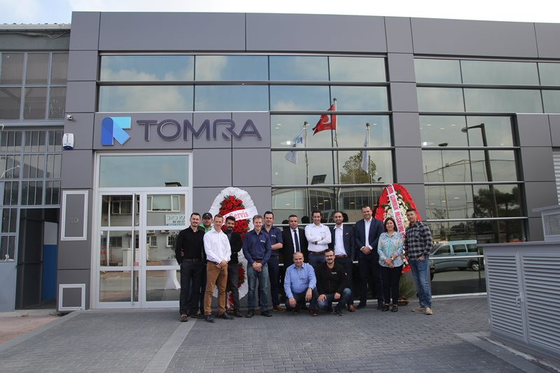 TOMRA Sorting Food test and demonstration center in Istanbul, Turkey